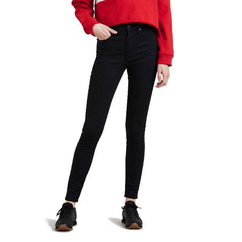 Mile High Super Skinny Jeans in Black Galaxy Jeans Levi's Women's