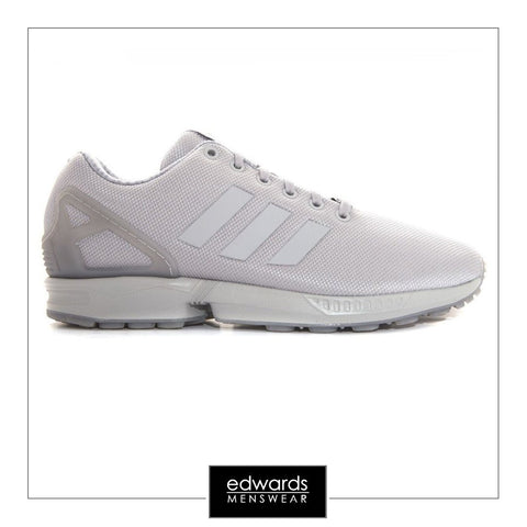 Mens Adidas ZX Flux AQ3099 Silver Trainers