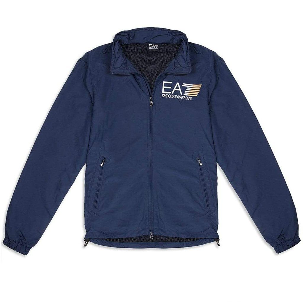 Emporio Armani EA7 Bomber Jacket in Navy Blue
