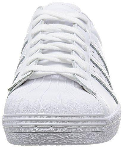 Mens Adidas Superstar 80s S79443 in Triple White