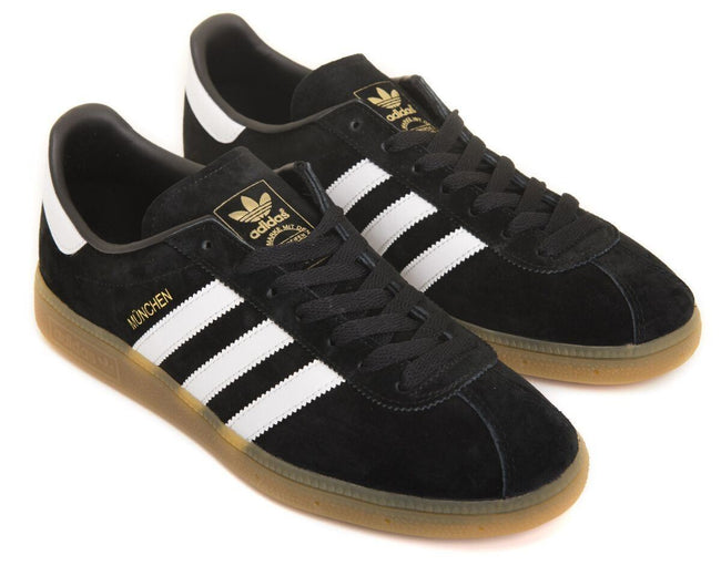 Adidas Originals Munchen BB5296 In Black/White/Gum