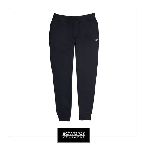 Emporio Armani Track Bottoms in Navy