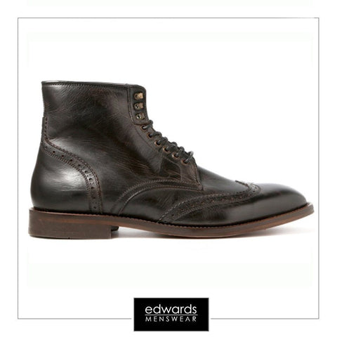 Hudson Greenham Ankle Boots in Black