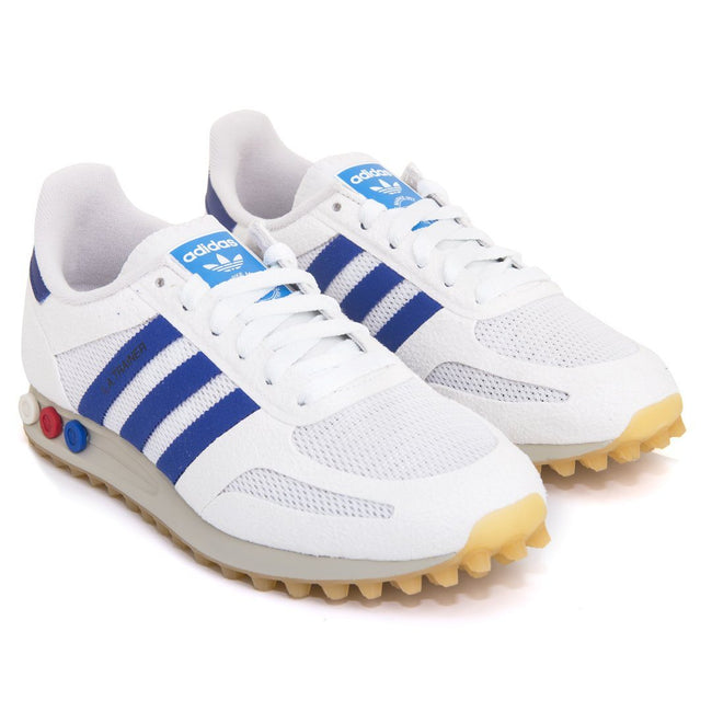 Adidas LA OG BY9319 Trainers in White/Blue/Gum