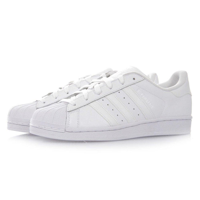 Adidas Superstar Triple White Leather Trainers