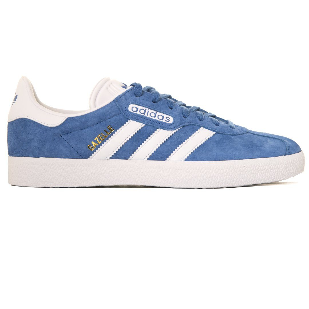Adidas Gazelle Super Essential CQ2792 in Trace Royal   White – Edwards  Menswear 963eedc26