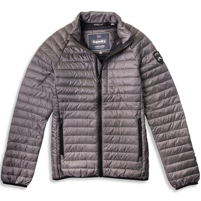Superdry Core Down Jacket in Grey