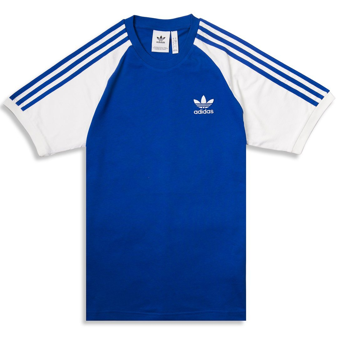867bce5a3ac Adidas 3 Stripe Tee CW1205 in Royal / White – Edwards Menswear
