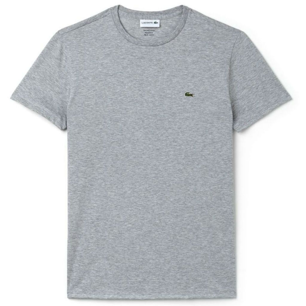 Lacoste TH6709-CCA T-Shirt in Grey T-Shirts Lacoste