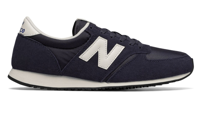 New Balance U420-NVB in Navy / White