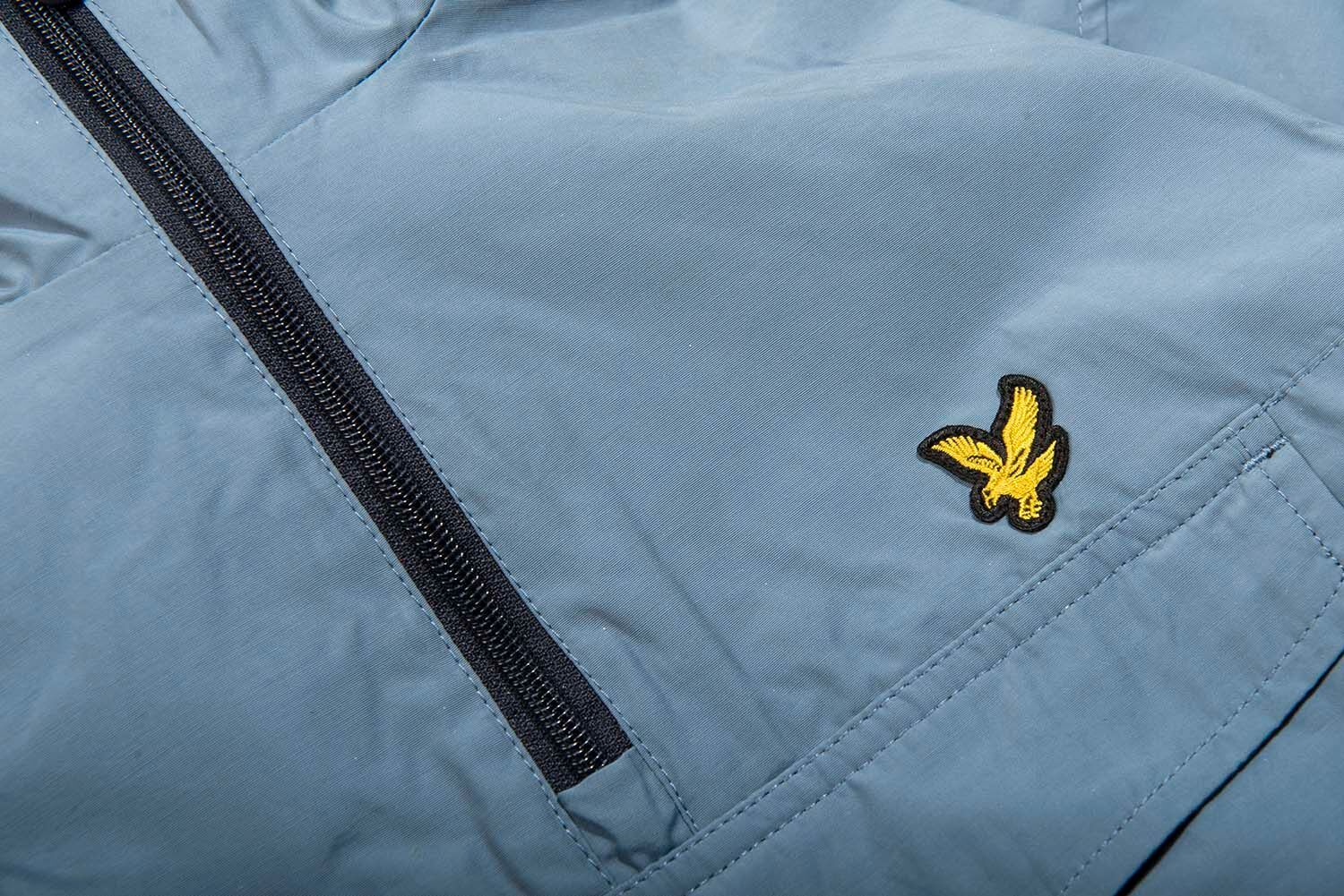 Lyle & Scott Pullover Anorak in Mist Blue