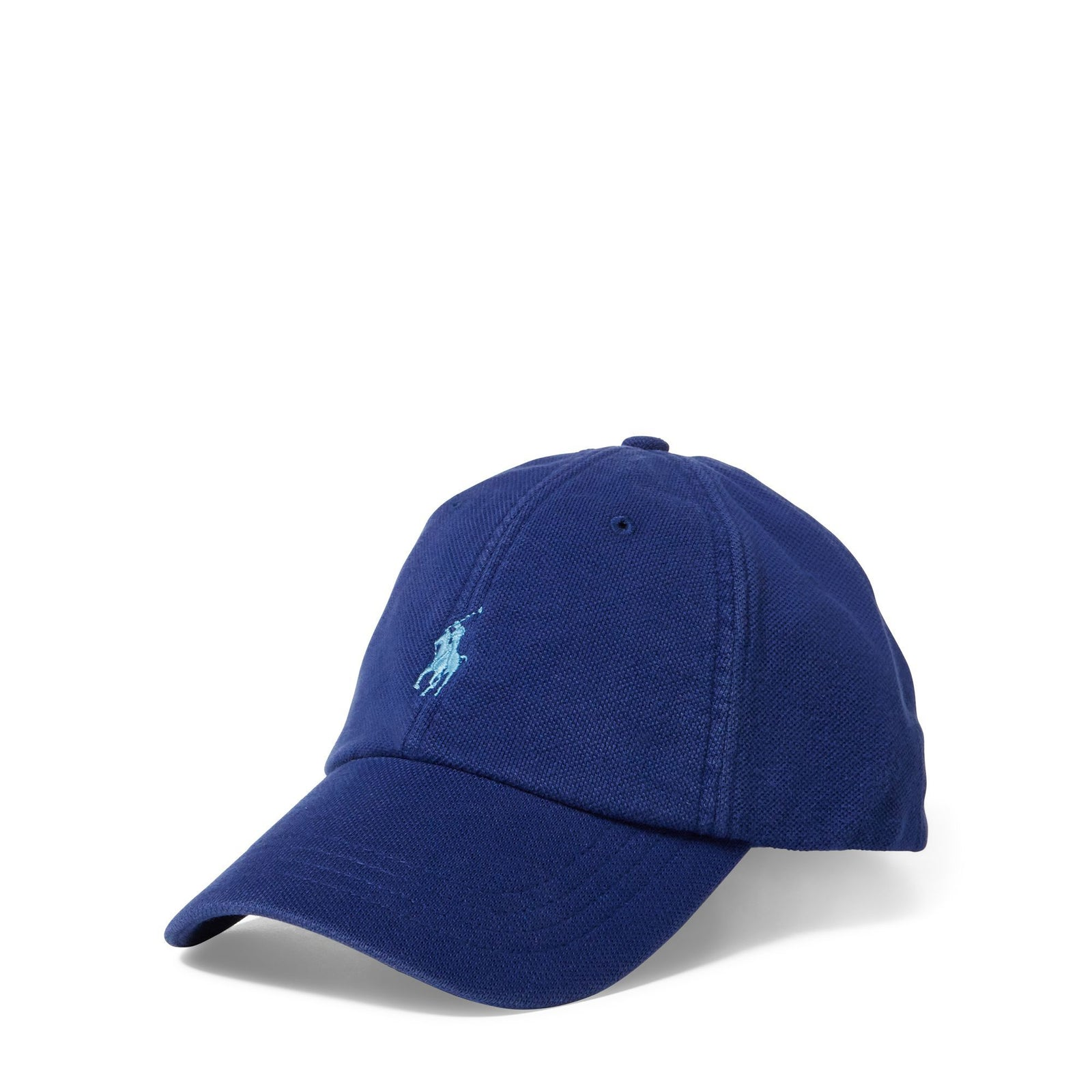 2ad52827229975 Ralph Lauren Cotton Mesh Baseball Cap in Blue – Edwards Menswear
