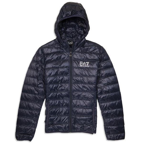 EA7 Emporio Armani Down Jacket in Night Blue