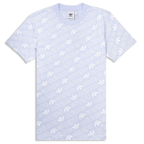 BOSS Tee-4 Artwork Tee Shirt in Deep Sky Blue