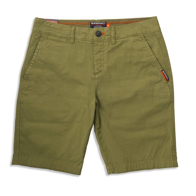 Superdry Chino Shorts in Military Green