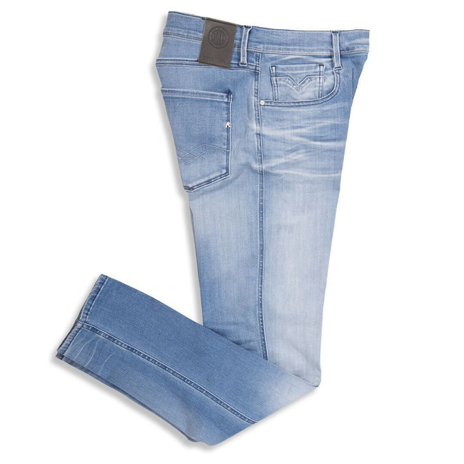 Replay Hyperflex Stretch Denim Jeans in Light Blue