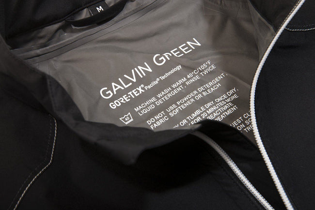 Galvin Green Alonzo GORE-TEX Paclite Waterproof Jacket in Black