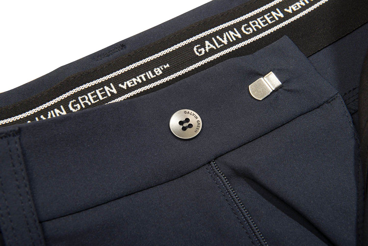 Galvin Green Nash Ventil8+ Golf Trousers in Navy Blue