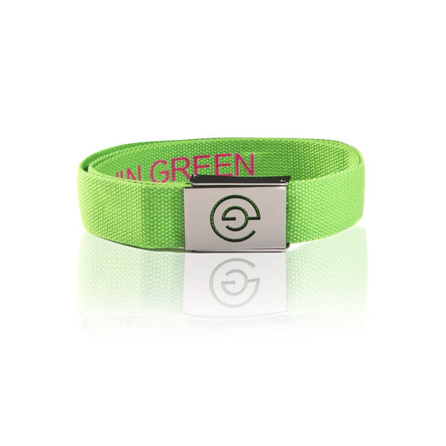 Galvin Green Wade Belt in Fore Green / Cerise