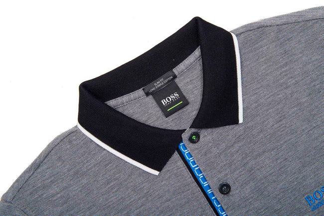 BOSS Athleisure Paule 4 Slim Fit Polo Shirt in Black