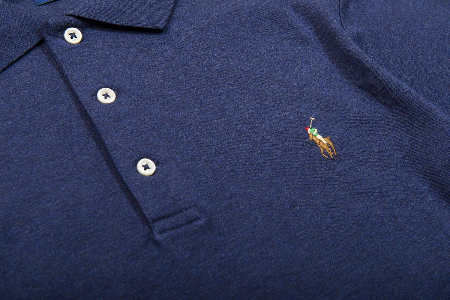 Ralph Lauren Soft Touch Polo Shirt in Spring Navy