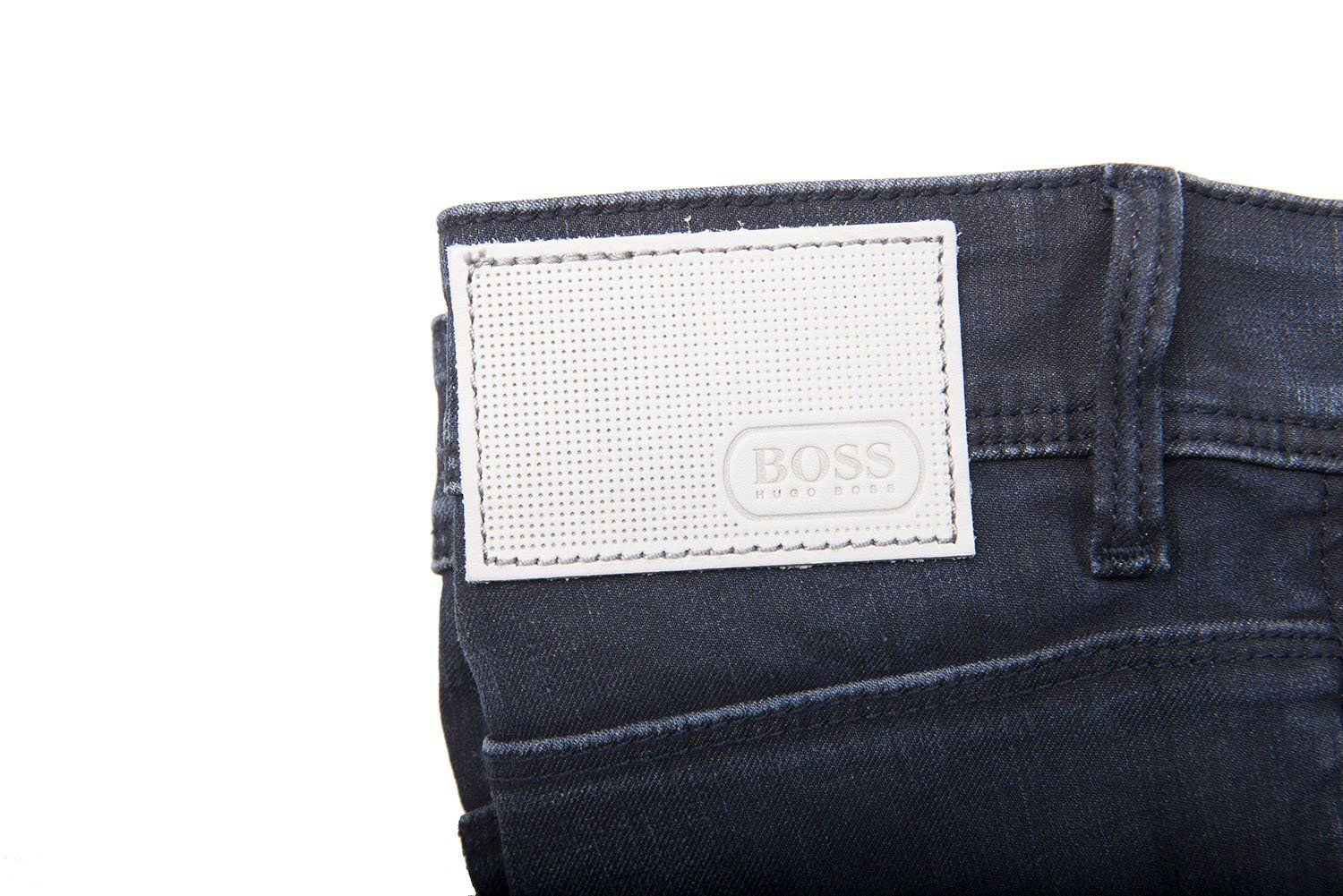BOSS Athleisure Drake 2 Slim Fit Jeans in Dark Blue Jeans BOSS
