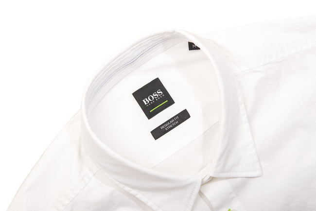BOSS Boldo_R Long Sleeve Shirt in White