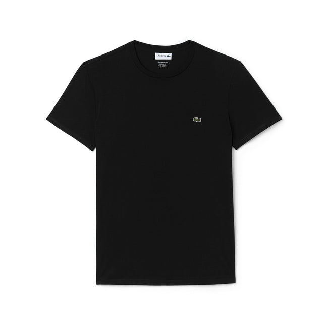 Lacoste TH6709-031 Crew Neck Tee in Black