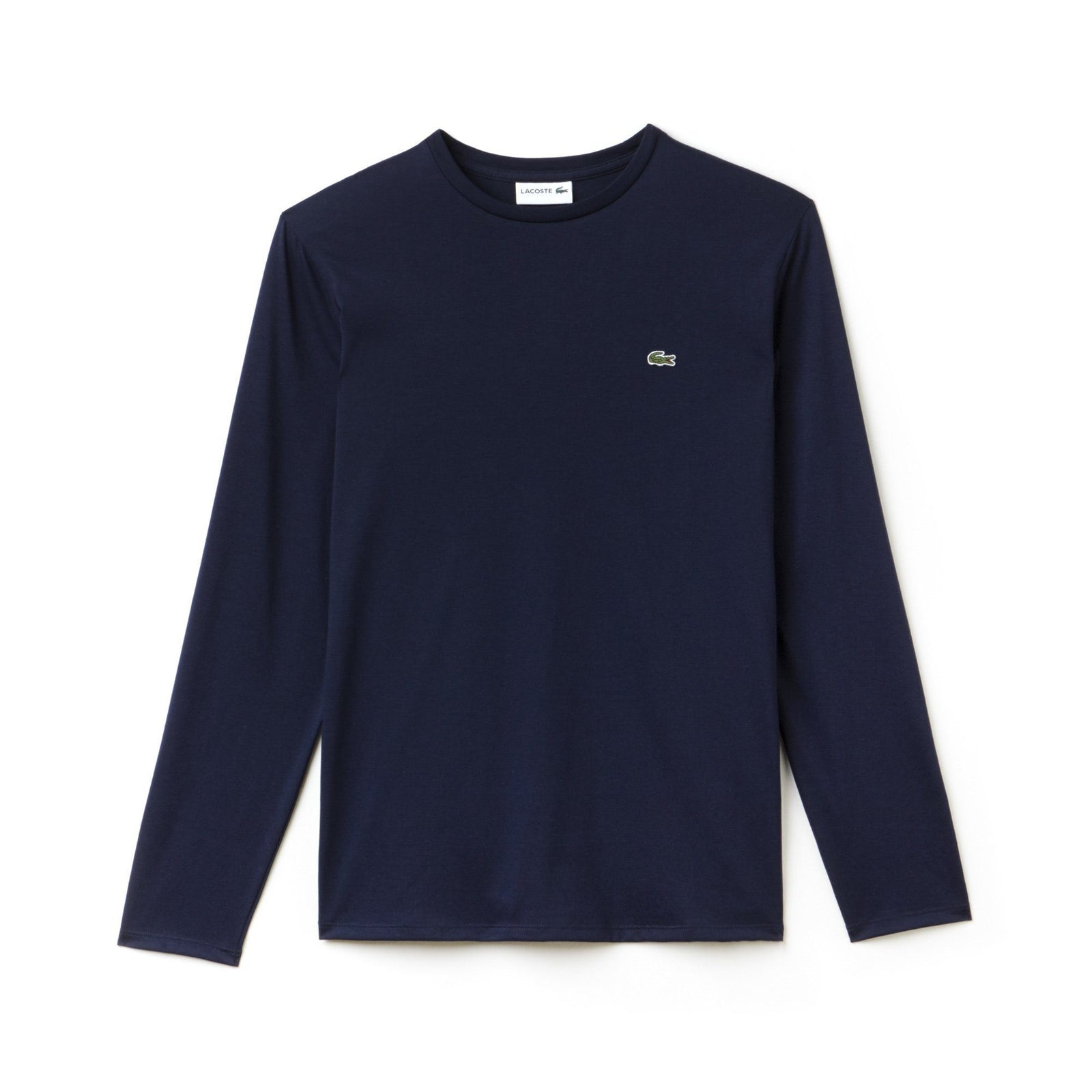 Lacoste TH6712-166 Crew Neck Pima Cotton Long Sleeved Tee