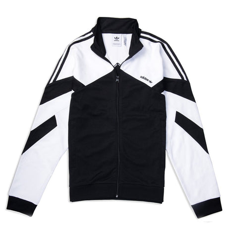 Adidas CLR 84 Track Top in Black