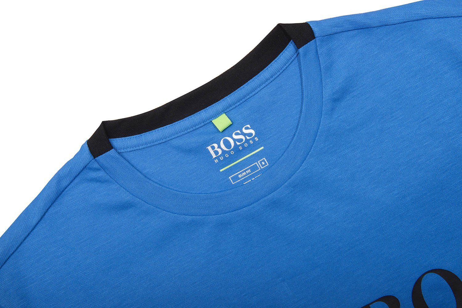 BOSS Athleisure TL-Tech Slim Fit T-Shirt in Blue