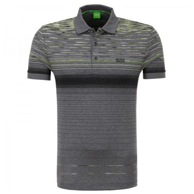BOSS Athleisure Paddy-3 Regular Fit Polo Shirt in Grey