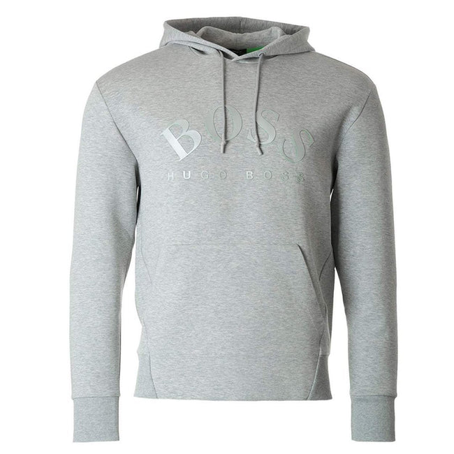 BOSS Sly Pull Over Hoodie in Grey