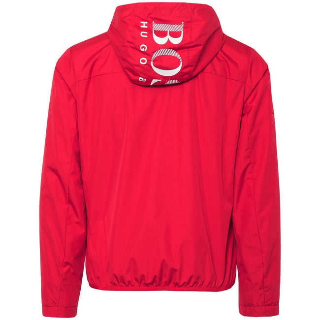 BOSS Jeltech Water Repellent Jacket in Red
