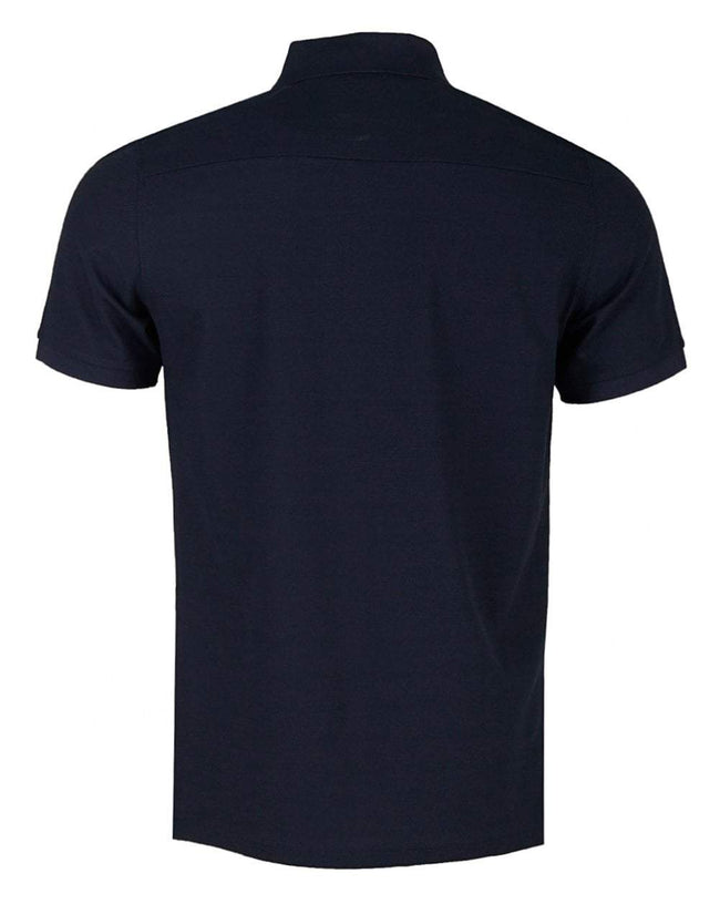 09eb9c728 J. Lindeberg Troy Clean Pique Polo Shirt in Navy