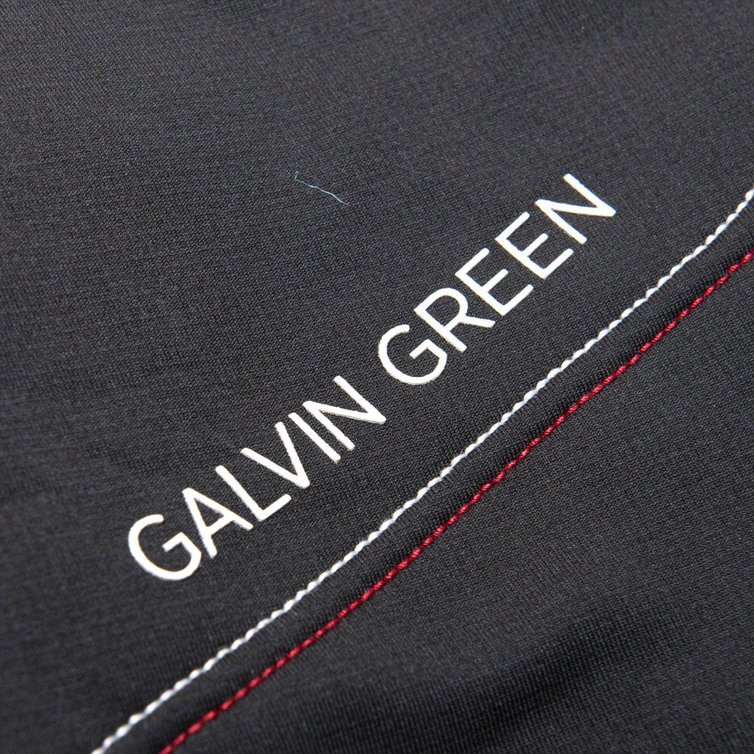 Galvin Green Dario Insula Jacket in Black / Red