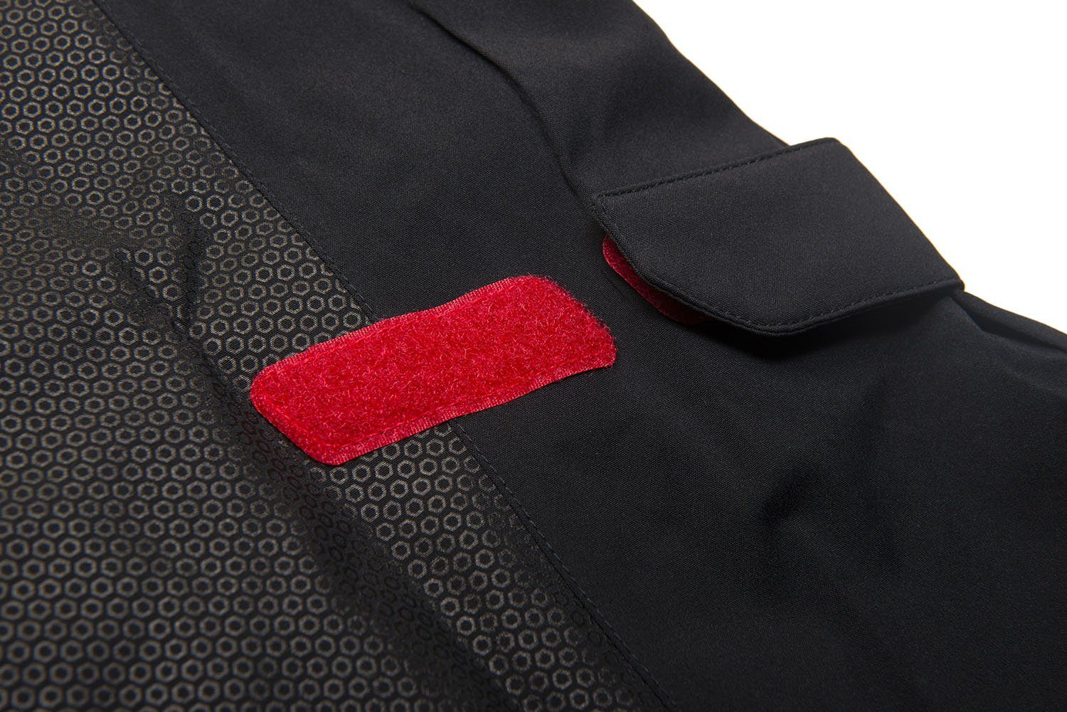 Galvin Green Alfred Gore-Tex Waterproof Jacket in Black / Red