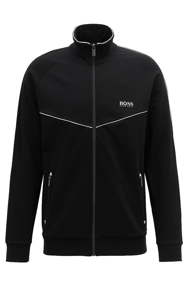BOSS Tracksuit Jacket in Black
