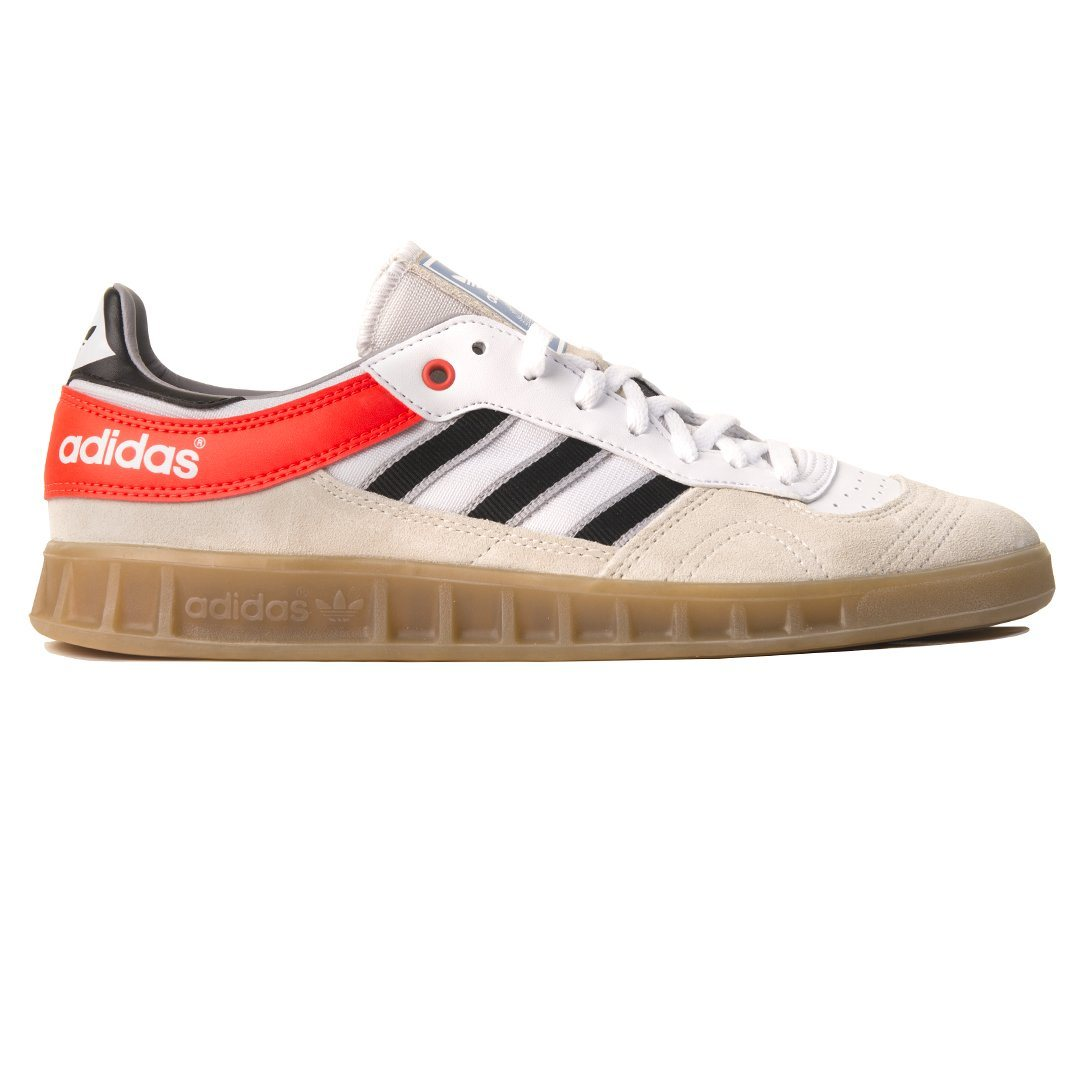 Adidas Handball Top Trainers AQ0905 in Chalk White / Black / Solar Red