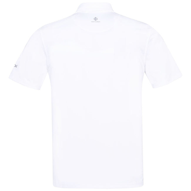 Oscar Jacobson Chap Polo Shirt in White
