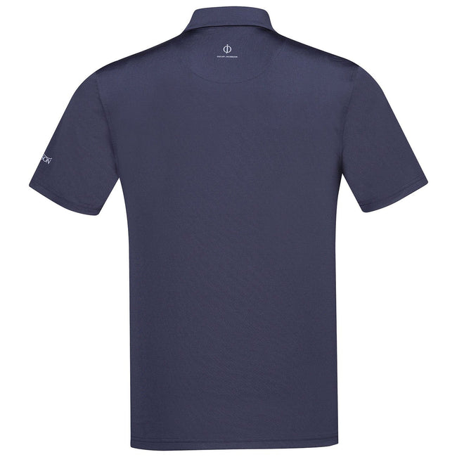 Oscar Jacobson Chap Course Polo Shirt in Navy Blue