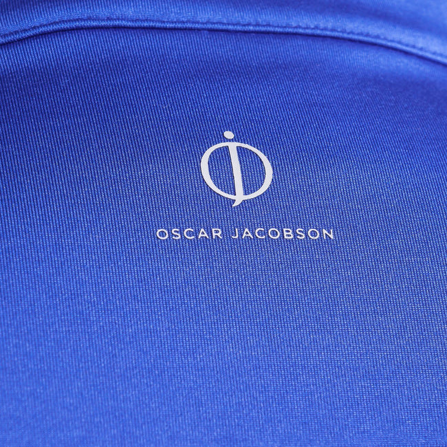 Oscar Jacobson Jonathan Thermal Half Zip in Blue
