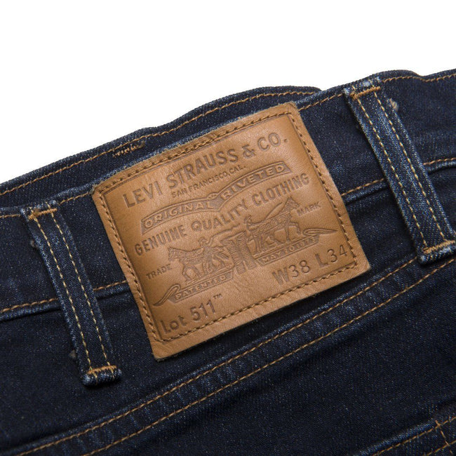 Levi's 511 Slim Fit Denim in Zeboid Adapt