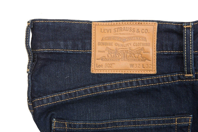 Levi's 502 Regular Taper Jeans in Biology Blue