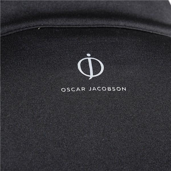 Oscar Jacobson Jonathan Thermal Half Zip in Black