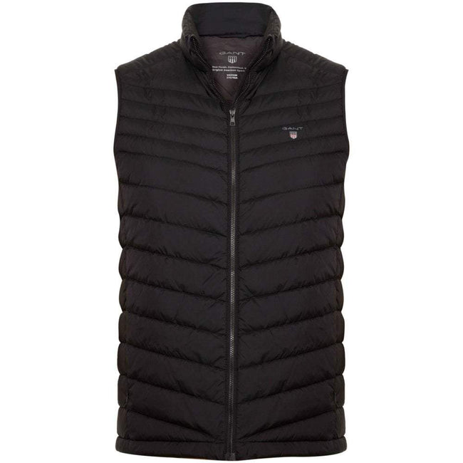 Gant Airlight Down Gilet in Black
