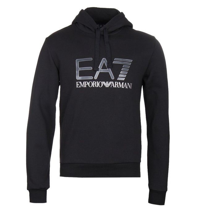 Emporio Armani EA7 Hooded Sweatshirt in Black