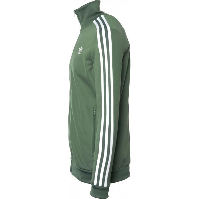 66898c2cd41 ... Adidas Originals DH5820 Beckenbauer Track Top in Trace Green ...