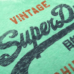 Superdry Shirt Shop Duo Overlay Lite T-Shirt in Jade T-Shirts Superdry