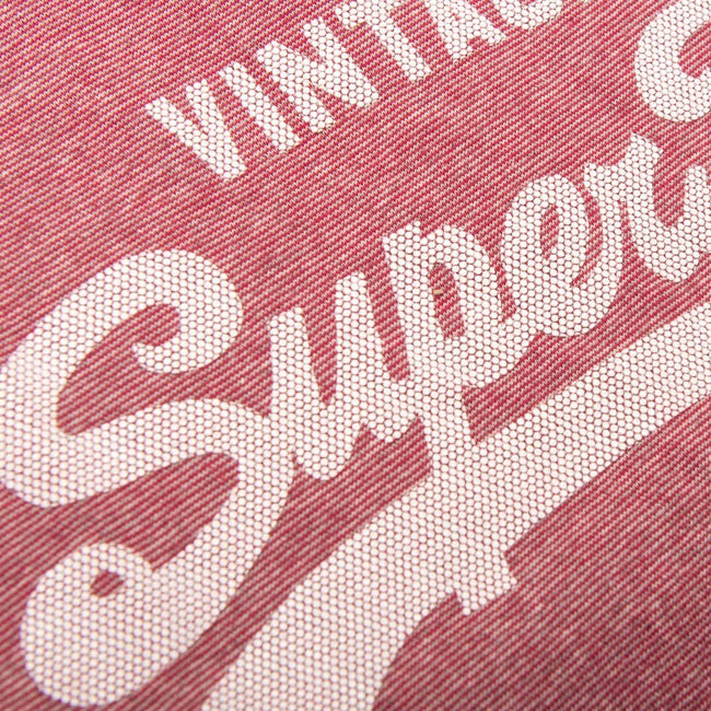 Superdry Shirt Shop Feeder T-Shirt in Red Feeder Grit